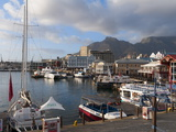 V & a Waterfront With Table Mountain in Background, Cape Town, South Africa, Africa Photographic Print by Sergio Pitamitz