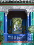 Jardin Majorelle, Marrakech, Morocco, North Africa, Africa Photographic Print by Nico Tondini