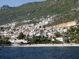 Kalkan Public Beach, Kalkan, a Popular Tourist Resort, Antalya Province, Anatolia, Turkey Photographic Print