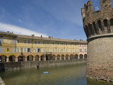 The 15Th Century Moated Castle at Fontanellato, Emilia-Romagna, Italy, Europe Photographic Print by James Emmerson