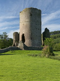 Tretower Castle, Powys, Wales, United Kingdom, Europe Photographic Print by Rob Cousins