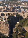 Pont De Sidi Rached Bridge, Constantine, Eastern Algeria, Algeria, North Africa, Africa Photographic Print by Michael Runkel