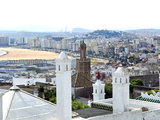 View of Tangier From the Medina, Tangier, Morocco, North Africa, Africa Photographic Print by Nico Tondini