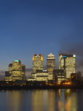Canary Wharf, London Docklands, London, England, United Kingdom, Europe Photographic Print by Graham Lawrence