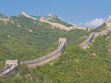 The Great Wall of China, Badaling, Near Beijing, China, Asia Photographic Print by Michael Runkel