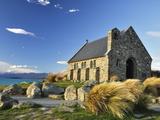 Church of the Good Shepherd, Lake Tekapo, Canterbury, South Island, New Zealand, Pacific Photographic Print by Jochen Schlenker