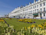 Hotels on the Seafront Promenade, Flower Filled Gardens, Eastbourne, East Sussex, England, Uk Photographic Print by Neale Clarke