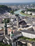 Old Town Seen From Fortress Hohensalzburg, Salzburg, Austria, Europe Photographic Print by Jochen Schlenker