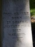 Paul Revere, Old Granary Burial Ground, Boston, Massachusetts, New England, USA Photographic Print