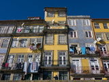 Old Houses in the Old Town of Oporto, UNESCO World Heritage Site, Portugal, Europe Photographic Print by Michael Runkel