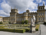 The Water Garden and Garden Wing, Blenheim Palace, Oxfordshire, England, United Kingdom, Europe Photographic Print by James Emmerson