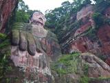 The Giant Buddha of Leshan, Sichuan, Tibet, China, Asia Fotodruck von Michael Runkel