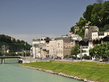 Salzach River and Old Town, Salzburg, Austria, Europe Photographic Print by Jochen Schlenker