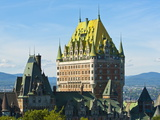 Fairmont Le Chateau Frontenac Hotel, Quebec City, Quebec, Canada, North America Photographic Print by Michael DeFreitas