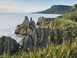 Pancake Rocks, Paparoa National Park, Punakaiki, West Coast, South Island, New Zealand, Pacific Photographic Print by Jochen Schlenker