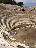 Amphitheatre at the Lycian Site of Patara, Near Kalkan, Antalya Province, Anatolia, Turkey Photographie