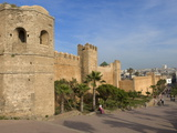 City Walls of the Oudaia Kasbah, Rabat, Morocco, North Africa, Africa Photographic Print by Graham Lawrence