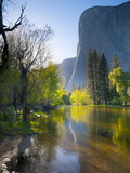 Cathedral Beach, Yosemite National Park, California, USA Photographic Print by Alan Copson