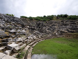 Amphitheartre at the Lycian Site of Letoon, Antalya Province, Anatolia, Turkey Photographic Print