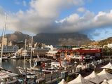 V &amp; a Waterfront With Table Mountain in Background, Cape Town, South Africa, Africa Photographic Print by Sergio Pitamitz