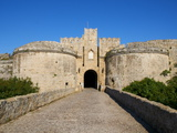 Amboise Gate, Grand Master's Palace, City of Rhodes, Rhodes, Dodecanese, Greek Islands, Greece Photographic Print