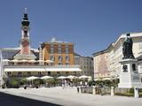 Mozart Monument, Mozartplatz, Salzburg, Austria, Europe Photographic Print by Jochen Schlenker