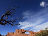 A Natural Sandstone Rock Arch in Arches National Park, Near Moab, Utah Photographic Print by David Pickford