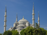The Blue Mosque (Sultan Ahmet Camii) With Domes and Minarets, Sultanahmet, Central Istanbul, Turkey Photographic Print by Neale Clarke