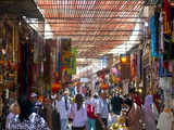 In the Souk, Marrakech, Morocco, North Africa, Africa Photographic Print by Michael Runkel