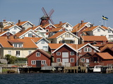 Houses Mollosund, Mollosund, West Gotaland, Sweden, Scandinavia, Europe Photographic Print by Robert Cundy