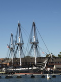 Uss Constitution (Old Ironsides), Charlestown Navy Yard, Boston, Massachusetts, New England, USA Photographic Print