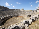 The Amphitheatre at the Lycian Site of Xanthos, Antalya Province, Anatolia, Turkey Photographic Print
