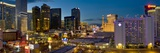 Night Panorama, the Strip, Las Vegas, Nevada, United States of America, North America Photographic Print by Neale Clarke