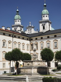 Max-Reinhard-Platz, Old Town, Salzburg, Austria, Europe Photographic Print by Jochen Schlenker