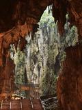 Batu Caves, Hindu Shrine, Selangor, Malaysia, Southeast Asia, Asia Photographic Print by Jochen Schlenker