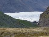 Vatnajokull Glacier, Skaftafell National Park, South Coast, Iceland, Polar Regions Photographic Print by Sergio Pitamitz