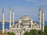 The Blue Mosque (Sultan Ahmet Camii), Sultanahmet, Central Istanbul, Turkey Photographic Print by Neale Clarke