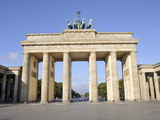Brandenburg Gate, Berlin, Germany, Europe Photographic Print