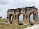 Arch of Modestus at the Lycian Site of Patara, Near Kalkan, Antalya Province, Anatolia, Turkey Photographic Print