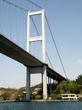 The Bosporus Bridge, Istanbul, Turkey, Europe Photographic Print