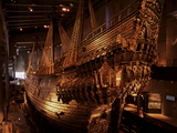 Vasa, a 17Th Century Warship, Vasa Museum, Stockholm, Sweden, Scandinavia, Europe Photographic Print by Sergio Pitamitz