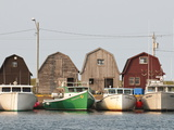 Fishing Boats in Malpeque Harbour, Malpeque, Prince Edward Island, Canada, North America Photographic Print by Michael DeFreitas