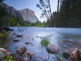 Merced River, Yosemite National Park, California, USA Photographic Print by Alan Copson