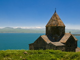 Sevanavank (Sevan Monastery) By Lake Sevan, Armenia, Caucasus, Central Asia, Asia Photographic Print by Michael Runkel
