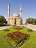 Saidlar Xiyabani, a Little Turkish Style Mosque Overlooking Baku, Azerbaijan, Central Asia, Asia Photographic Print by Michael Runkel