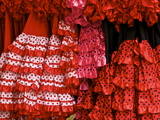 Flamenco Dresses, Seville, Andalucia, Spain, Europe Photographic Print by Guy Thouvenin
