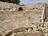 Amphitheatre at the Lycian Site of Patara, Near Kalkan, Antalya Province, Anatolia, Turkey Photographic Print
