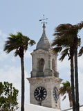 Clock Tower (Mall) at the Royal Naval Dockyard, Bermuda, Central America Photographic Print by Michael DeFreitas