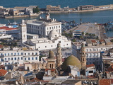 View Over the Kasbah of Algiers, Algiers, Algeria, North Africa, Africa Fotografisk tryk af Michael Runkel