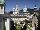 Petersfriedhof, Salzburg, Austria, Europe Photographic Print by Jochen Schlenker